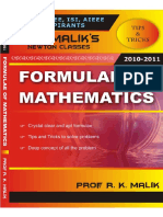Formulae of Mathematics