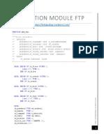 Function Module Ftp