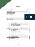 Daftar Isi Rancangan