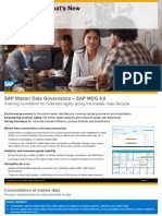 What's New With SAP Master Data Governance 9.0