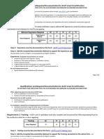 ACCP L2 Qualifications
