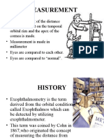 Shyam 2 - Exophthalomometry.ppt