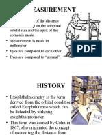Shyam 2 - Exophthalomometry.ppt