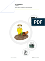 308 2017 Application Note Determination of Oil Content in Seed Samples 0