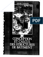 66033014 Conception Et Calcul Des Structures de Batiment Tome 1 ENPC Thonier
