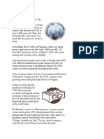 History of Cotton.docx