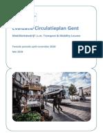 Evaluatierapport Circulatieplan Gent 2019 (2de Periode - Mei 2019)