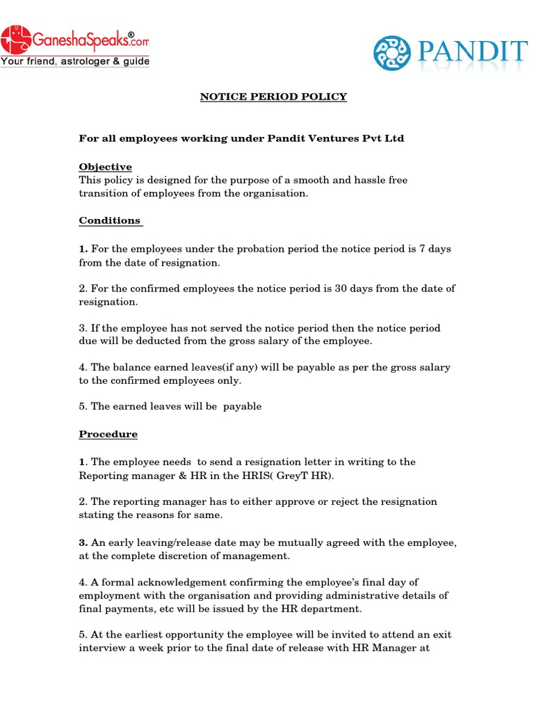 Acceptance Of Resignation Letter With Early Release from imgv2-2-f.scribdassets.com