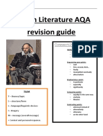 English Literature GCSE Revision Guide 2019