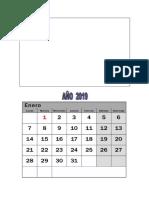 2019 Calendario Chile 2..0