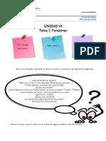 Unidad VI. Tema 1 Funciones Definición y Estudio (1)