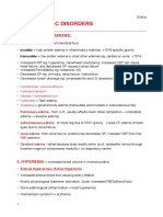 Hemodynamic Pathology