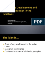 Agricultural-Development and Poverty Reduction Maldives