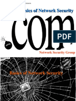 Basics of Network Security