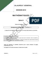Maths S spé G1
