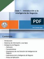 Introducción a La Inteligencia de Negocio