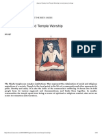 Agama Shastra and Temple Worship