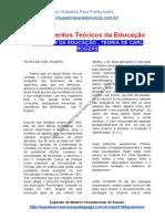 TEÓRICOS DA EDUCAÇÃO – TEORIA DE CARL ROGERS