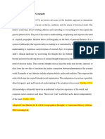 Idealism Paper