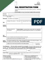 New Electoral Reg Form