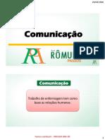 Comunicação em Enfermagem- SLIDES