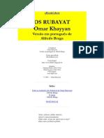 Os Rubayat - Omar Khayyan - Livro