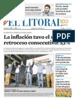 El Litoral Mañana 14/06/2019