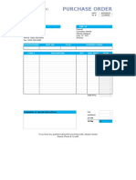 Purchase Order Template 02