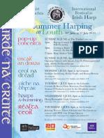 Cnac Harp Festival Progm 2019 (1)