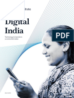 Digital India Technology to Transform a Connected Nation Full Report