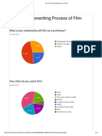 the pre-screenwriting process of film