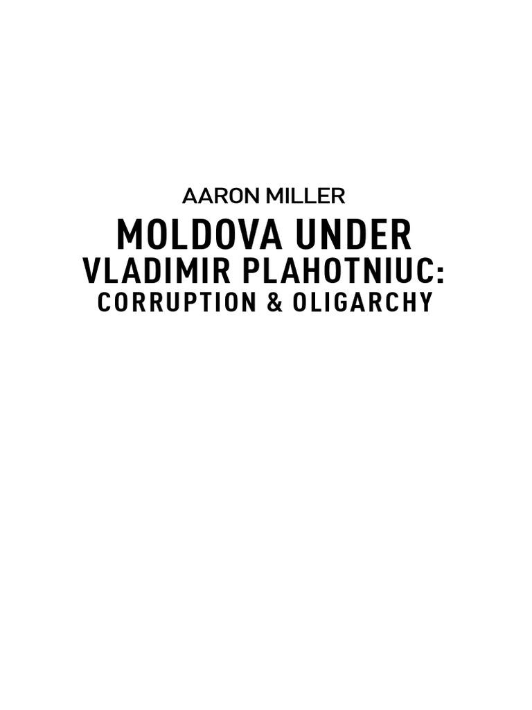 Miller - Moldova Under Plahotniuc | Moldova | Government
