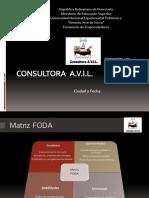 Ejemplo de Presentación en Ppt Consultora a.v.I.L.