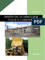 Diseño de Fajas y Camiones Servicios Auxiliares Mineros (2)
