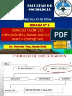 SEMANA N° 9 ANTECEDENTES Y MARCO TEORICO.ppt