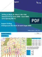 Drilling Report TDS Geologi at Drilling Underground and Drilling Spc 400 TCM SB 1 (Bk 2E - BK 1) 25 MAY 2019