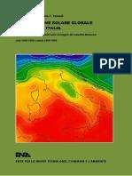 La Radiazione Solare Globale Al Suolo in Italia