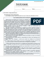 GP8 Comprension de Lectura Argumentacion Vocabulario II