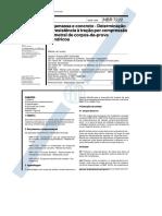 NBR 7222 - Concreto e Argamassa – Determinação Da Resistência à Tração Por Compressão
