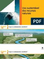 Uso Sustentável Dos Recursos Naturais