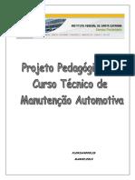 Projeto Do Curso Tec Em Manutencao Automotiva 08 03 2010