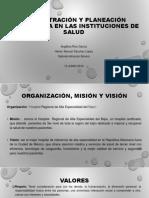Equipo 2 Misión Visión y Valores HRAEB