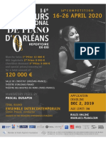 14th International Piano Competition of Orleans