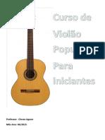 Apostila de Violão para iniciantes e intermediários