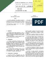 LNEC E 199-1967 - Solos_ Determinação do Equivalente de Areia.pdf