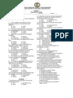 7 Diagnostic Exam