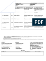 Risk Assessment Editing Classroom