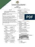 8 Diagnostic Exam