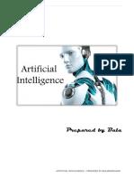 Artificial Intelligence by bala