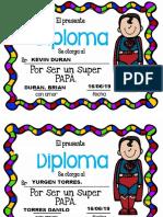 Diploma a Papa